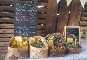 Foods for Purchase at the Garden Party