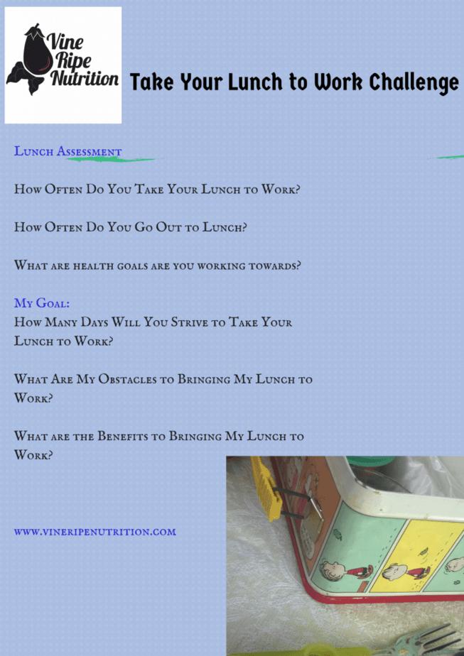 Lunch Assessment2