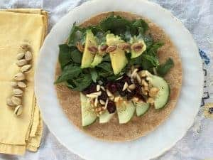 Fruit and Nut Wrap