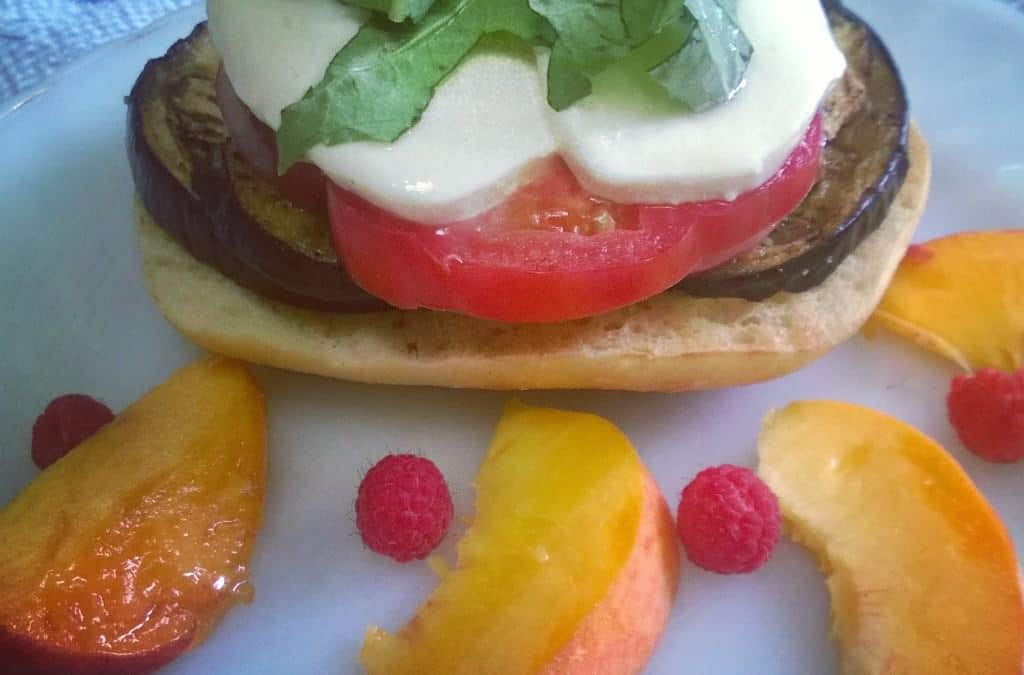 Take Your Lunch to Work Month: 3 Vegetarian Open Faced Sandwiches