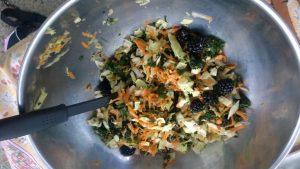 Kale and Blackberry Salad