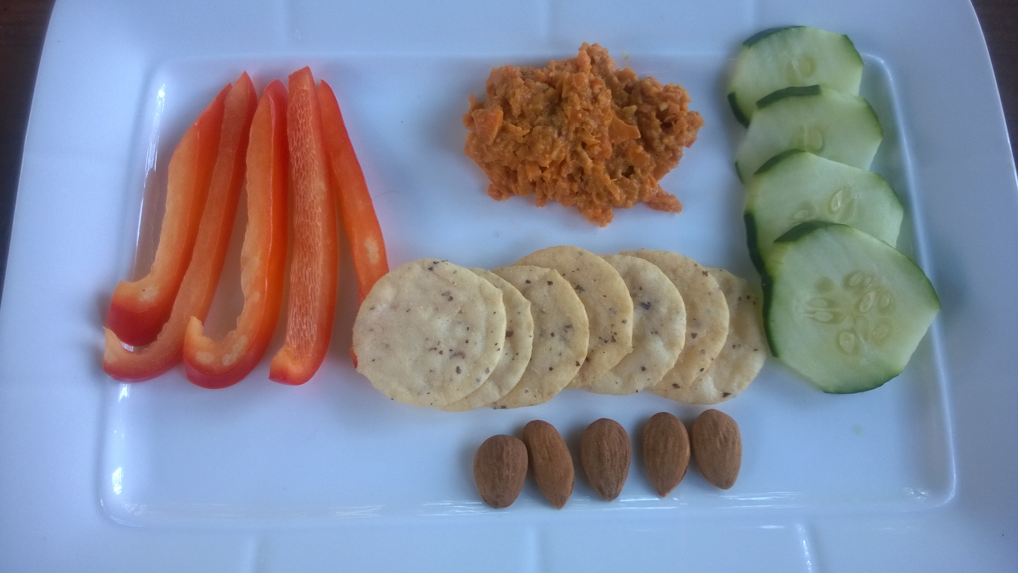 Make a Carrot Dip and serve with Asian inspired fixins!