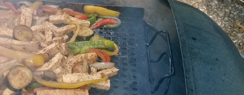 Supper doesn't get much better than fajitas on the grill!