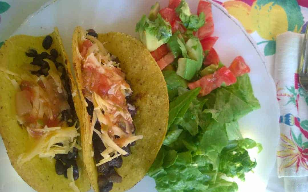 Meatless Meals in Minutes: Bean Tacos