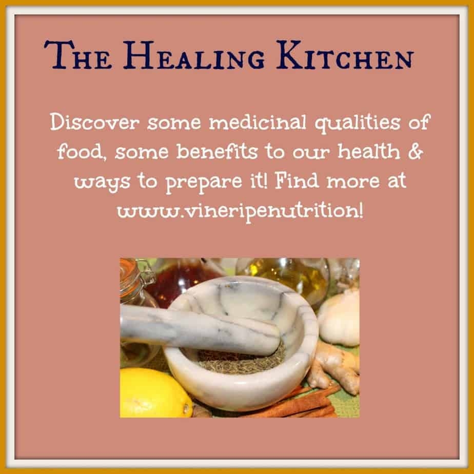 This series shares the medicinal and nutritional benefit of food!