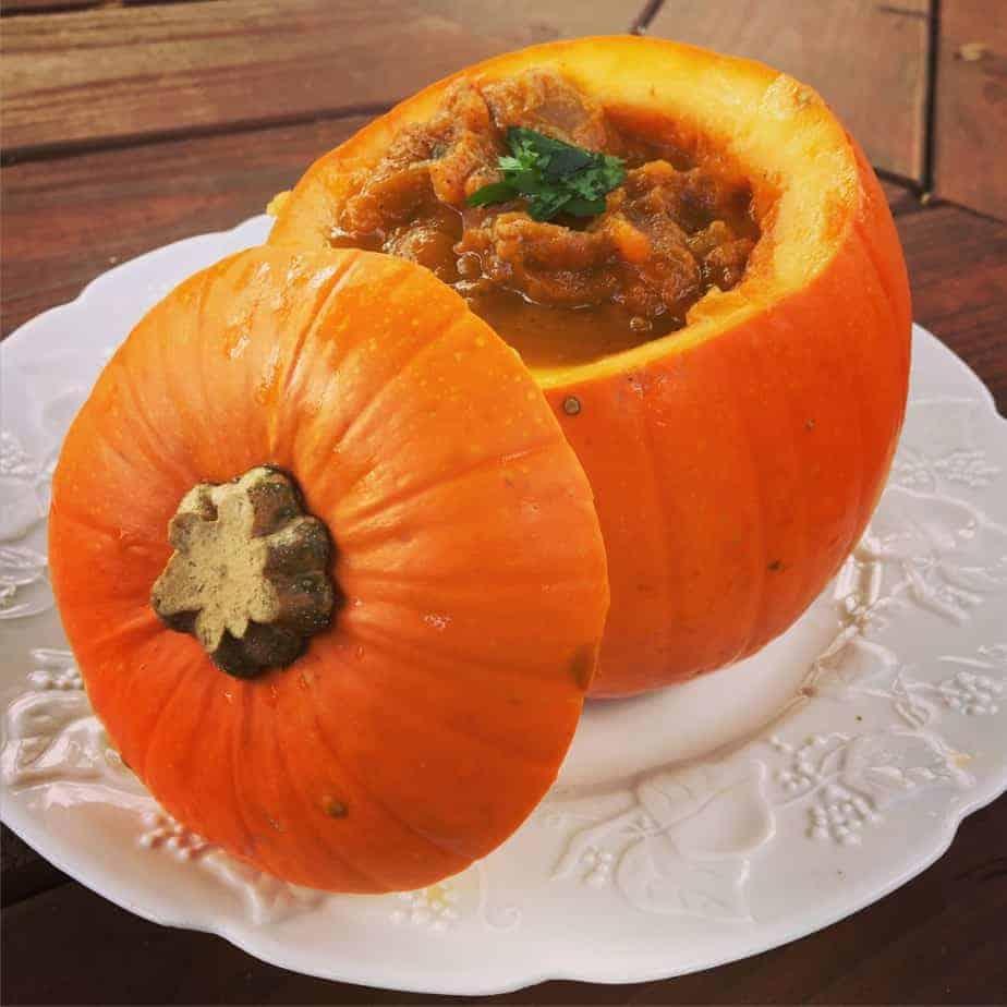 Southwestern Pumpkin Soup