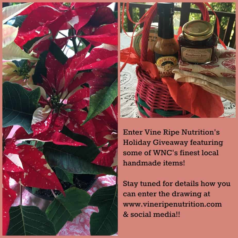 Stay tuned for how you can sign up to win the holiday giveaway!