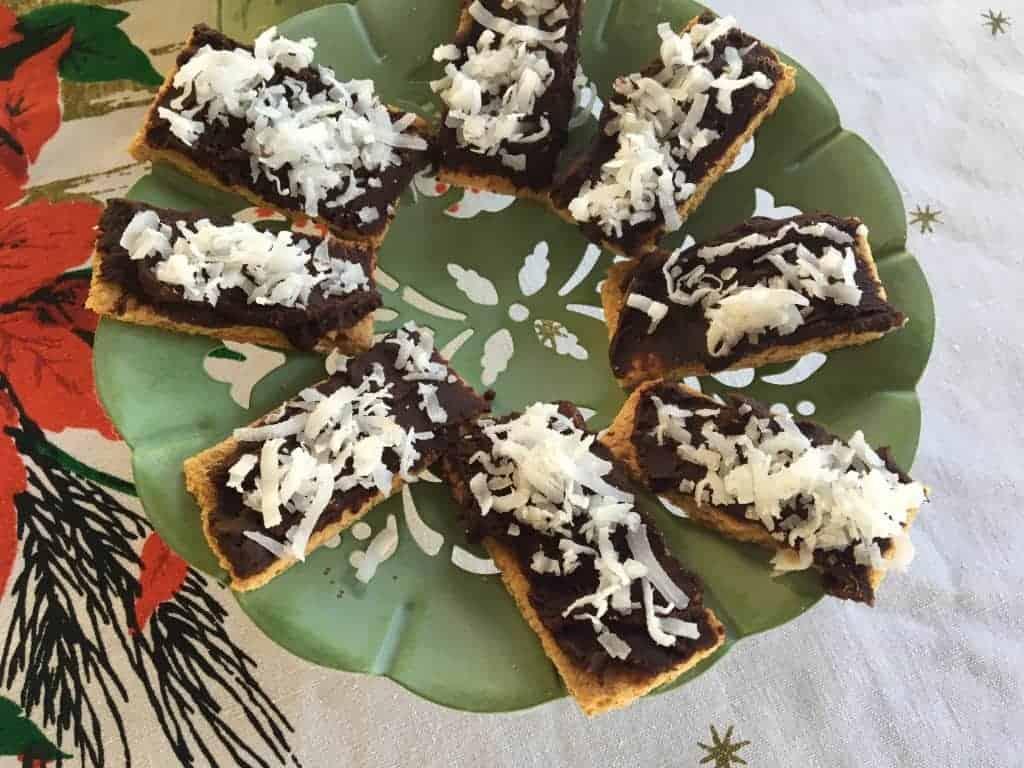 Chocolate Coconut Grahams