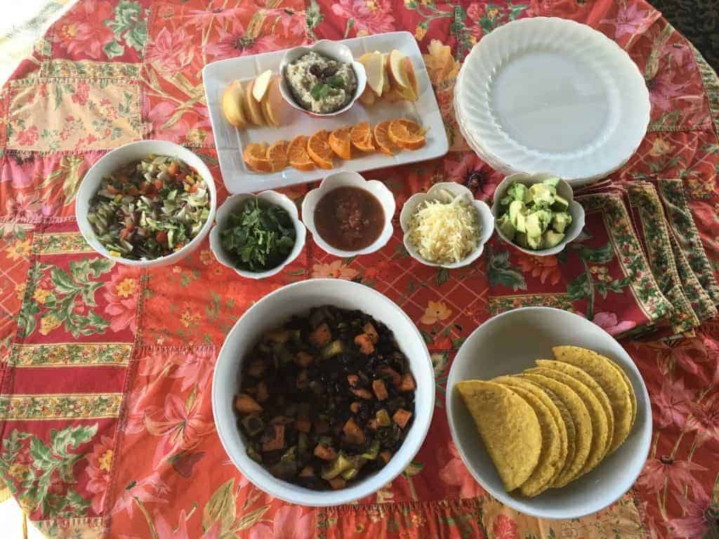 Mexican Christmas Celebration Menu