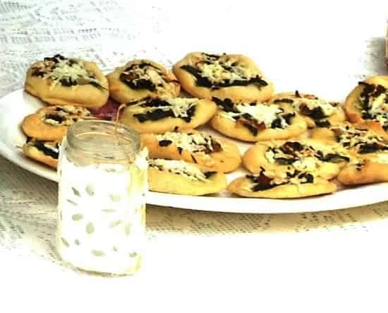 Mini pizzas make a tasty way to ring in the new year!