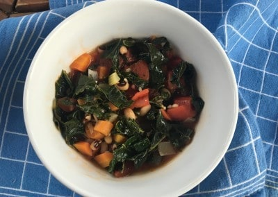 Kale, Tomato and White Bean Soup
