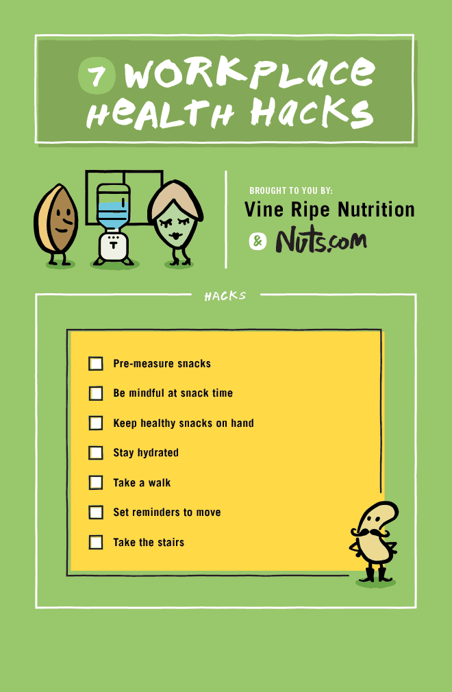 Try some of these great ideas to help you stay strong for the snack attacks!