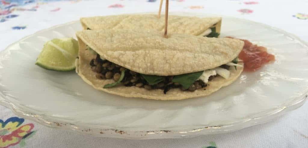 Spring Lentil Tacos