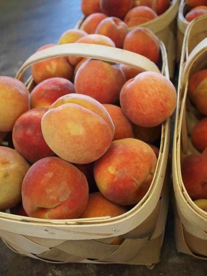 Farmers' Market Peaches