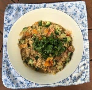 Low Fodmap Tabouli