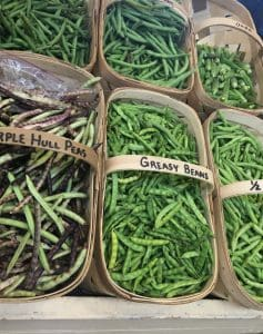 Green Beans at the Farmers' Market