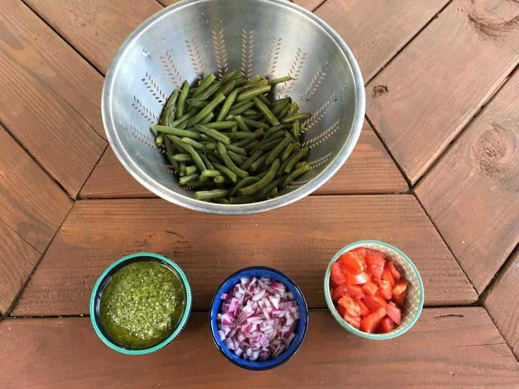 Green Beans and Fixins