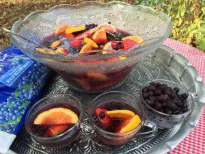 Wild Blueberry Sangria
