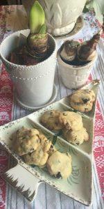 Almond, White Chocolate, Cranberry & Macadamia Cookies
