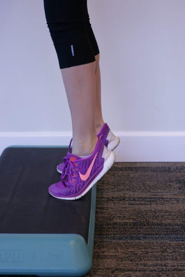 Calf Stretch Lower Heel