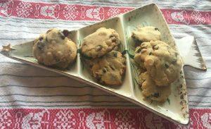Cookies on Vintage Platter