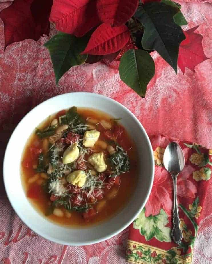 Try this Italian Christmas Tortellini Soup