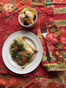 Butternut Squash & Poblano Chilaquilas