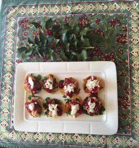 Festive Holiday Mini Totadas