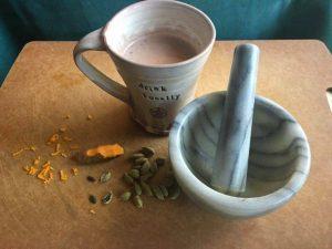 Tumeric Hot Chocolate