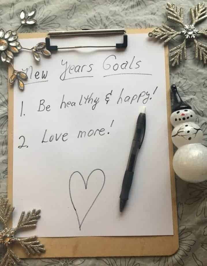New Years Goals 2017