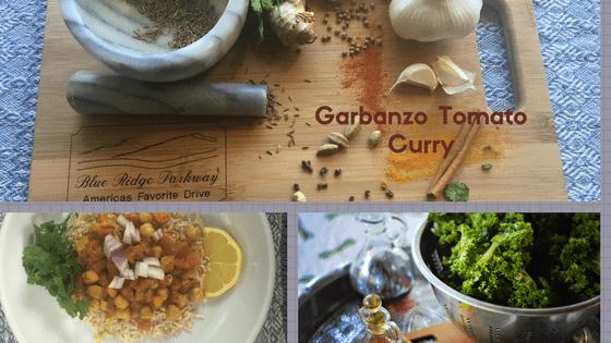 garbanzo tomato curry