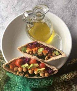 Stuffed Pita Salad