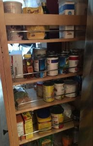 Asheville Registered Dietitian Nutritionist Denise Barratt's pantry