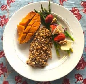 Pecan Encrusted Trout