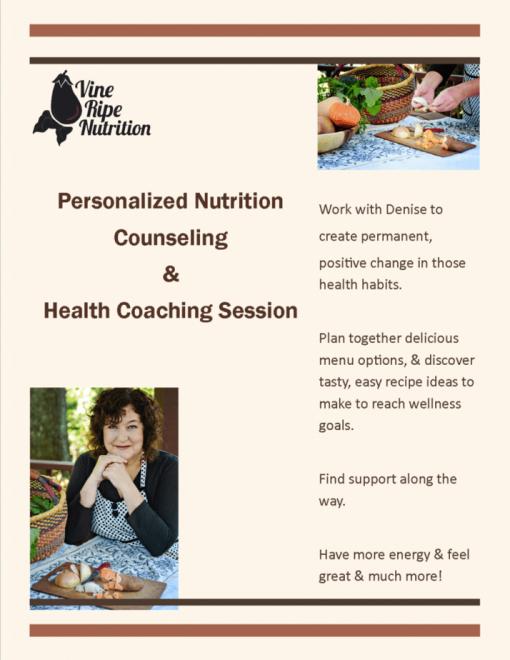 Asheville Registered Dietitian Nutritionist Denise Barratt