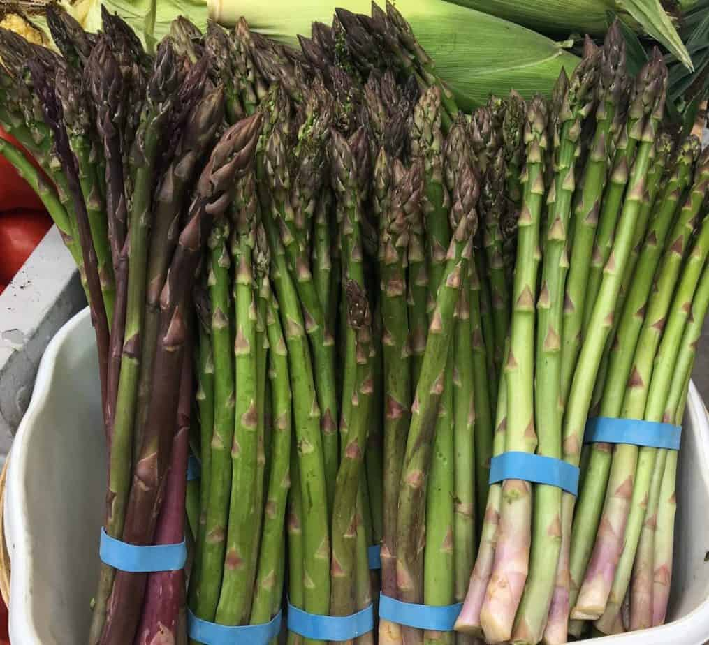 Asparagus from the Farmers' Market