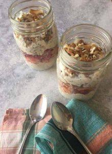 Strawberry Coconut Cream Overnight Oats