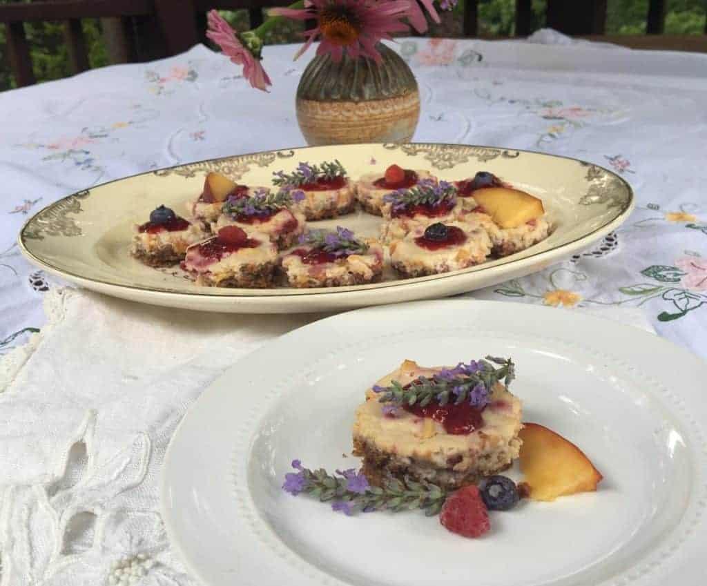 Bite Sized Summer Celebration Dessert