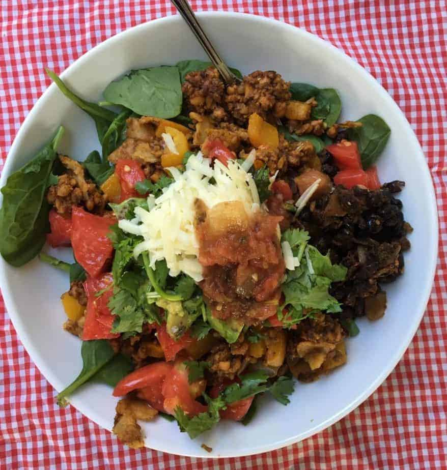 Healthy Vegetarian Breakfast Recipe