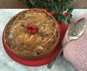 Cranberry Dessert that is gluten free and low fodmap