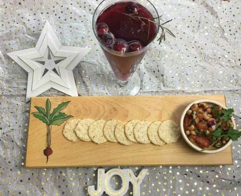 New Year's Appetizer and Beverage