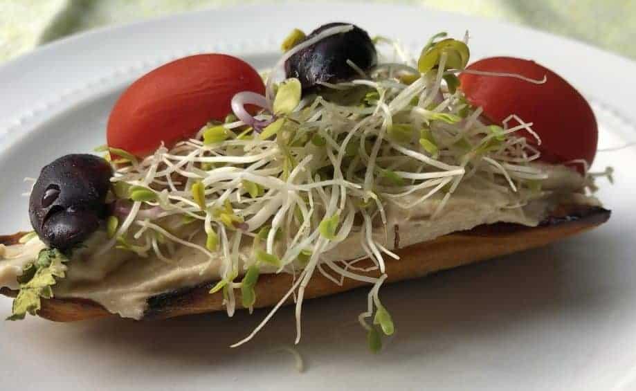 Gluten Free Open Faced Sandwich